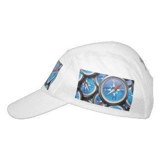 Stapel der Seekompassse Headsweats Kappe
