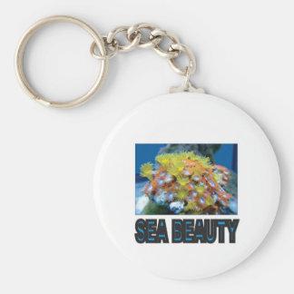 Stapel der Seeschönheit Schlüsselanhänger