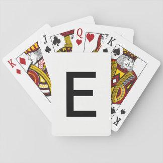 Stapel E Spielkarten