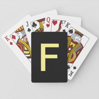 Stapel F Spielkarten