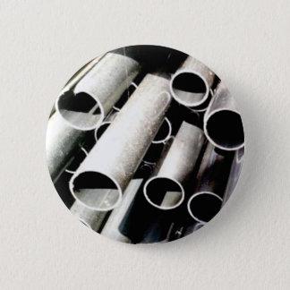 Stapel Metallrohre Runder Button 5,7 Cm