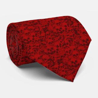 Stapel von skullz: krawatte
