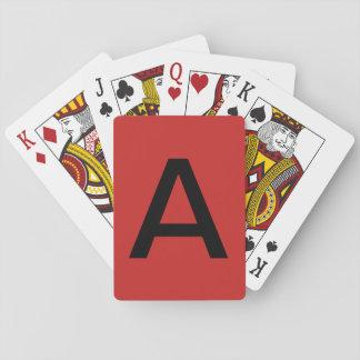 Stapeln Sie A Spielkarten