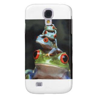 Staplungsfrösche Galaxy S4 Hülle