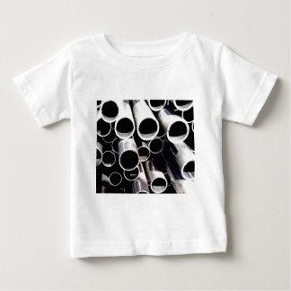 Staplungskreise des Stahls Baby T-shirt