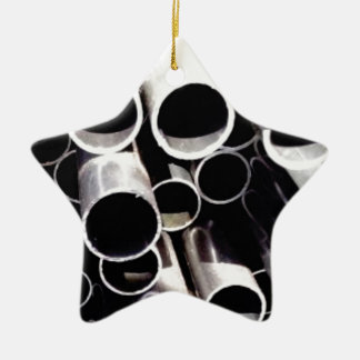 Staplungskreise des Stahls Keramik Ornament