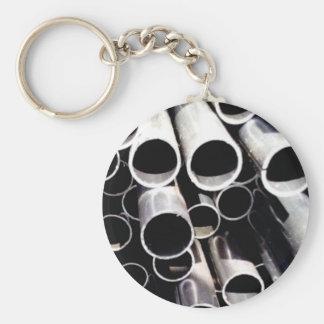Staplungskreise des Stahls Schlüsselanhänger