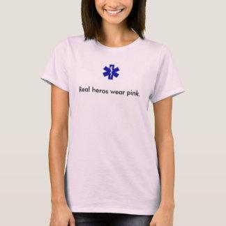 star_of_life, wirkliche Helder tragen Rosa T-Shirt