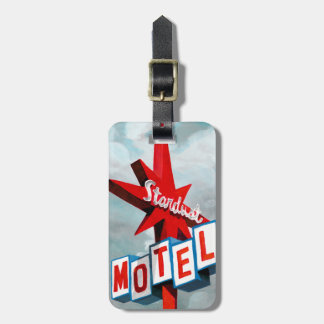 Stardust Motel-Zeichen Kofferanhänger