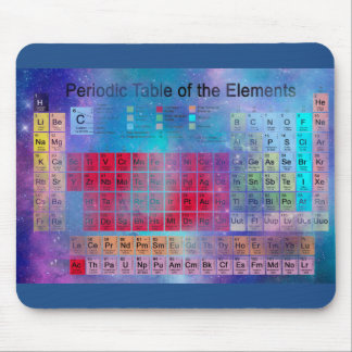 Stardust Periodensystem-Nr. 2 Mousepads