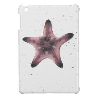 Starfish auf weißem Sand-Minimalismus-Muster iPad Mini Hülle