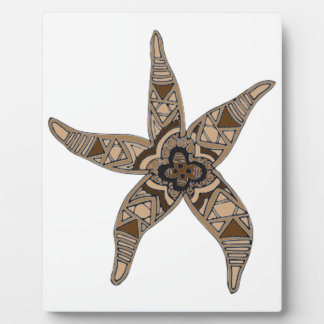 Starfish Fotoplatte