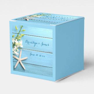 Starfish-Gastgeschenk Hochzeits-Kästen mit Geschenkschachtel
