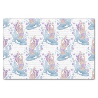 Starfish-Ozean-Muscheln Lavendel der Meerjungfrau Seidenpapier