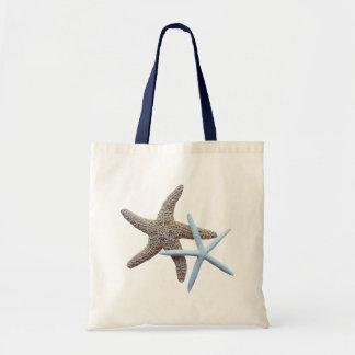 Starfish-Paar-Stoff-Taschen-Tasche Tragetasche