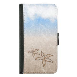 Starfish-Strand Samsung Galaxy S5 Geldbeutel Hülle