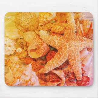 Starfish und Muscheln (2) - Mousepad