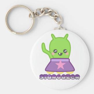 STARGAZER alien grundlegendes Keychain Schlüsselanhänger