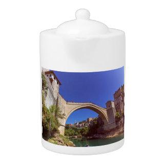 Stari höchst, alte Brücke, Mostar, Bosnien und