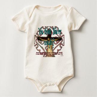 Stark genug? baby strampler
