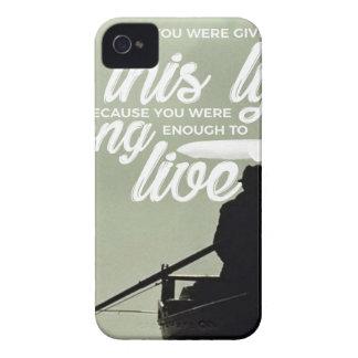 Stark genug leben dieses Leben iPhone 4 Hüllen