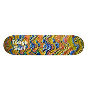 Starke Brandungs-königliches Gold 19,7 Cm Skateboard Deck