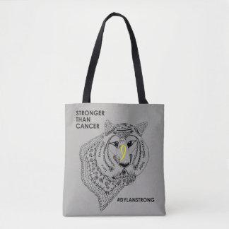 Starke doppelseitige Taschen-Tasche Dylans - Grau Tasche