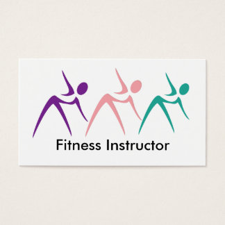 Starke Fitness-Lehrer-Geschäfts-Karten Visitenkarten