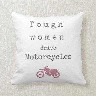 Starke Frauen-Antrieb Motorräder Kissen