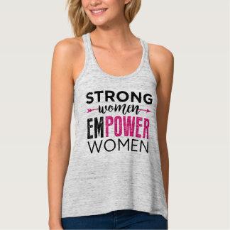 Starke Frauen bevollmächtigen Frauen Tank Top