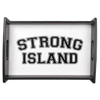 Starke Insel, NYC, USA Serviertablett