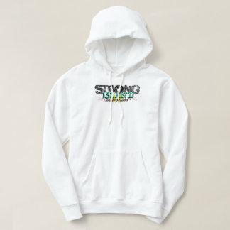 Starke Insel-Untergrund-Shirt-Auswahl Hoodie