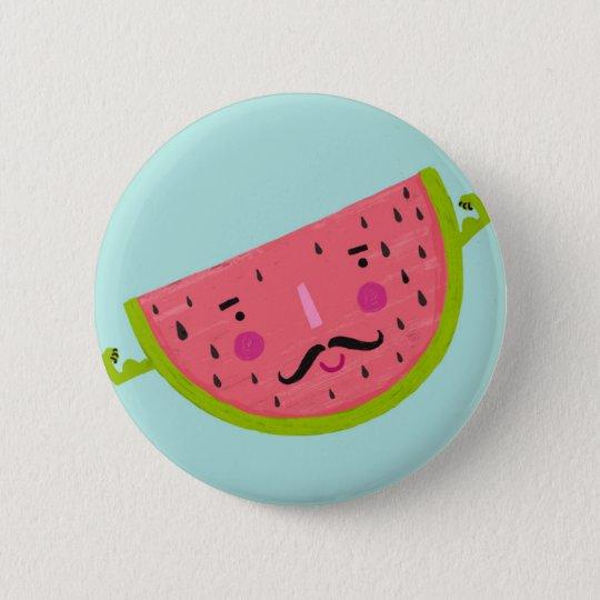 starke Melone Runder Button 5,1 Cm