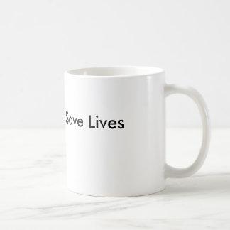 Starke Schenkel retten Leben-Tasse Tasse