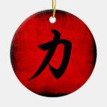 Stärke Weihnachtsbaum Ornament