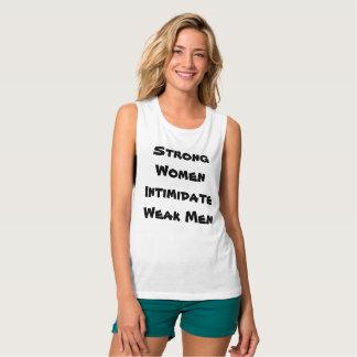 Starker Frauen-Muskel-Behälter Tank Top