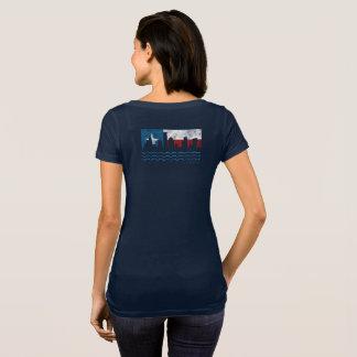Starker Hurrikan Texas Harvey Schaufel-T - Shirt