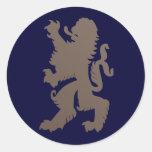 Starker Löwe-Aufkleber
