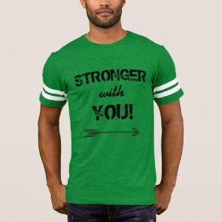 STÄRKER mit Ihnen der Fußball-T-Shirt der Männer T-Shirt