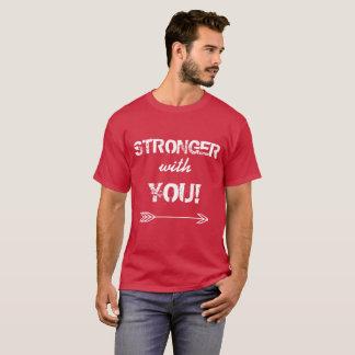STÄRKER mit Ihnen Vati-Kardinals-T-Shirt T-Shirt