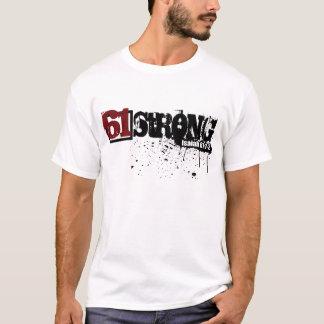 Starker Spritzer der Farben-61 doppelseitig T-Shirt