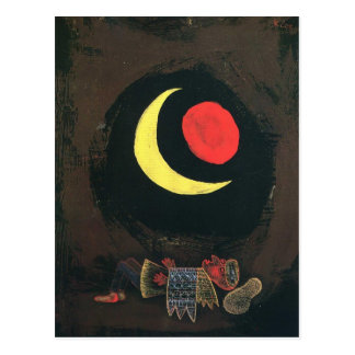 Starker Traum Pauls Klee- Postkarte