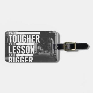 Stärkere Lektions-größerer Segen Kofferanhänger
