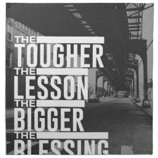 Stärkere Lektions-größerer Segen Serviette