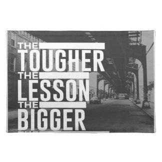 Stärkere Lektions-größerer Segen Tischset