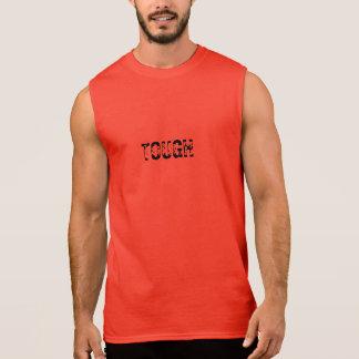 STARKES - der Muskel-T-Stück der Männer - Rot Ärmelloses Shirt