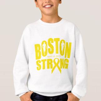 Starkes gelbes Band Bostons Sweatshirt
