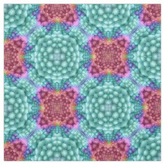 Starkes Kaleidoskop-Gewebe des Blau-zwei, 7 Arten Stoff
