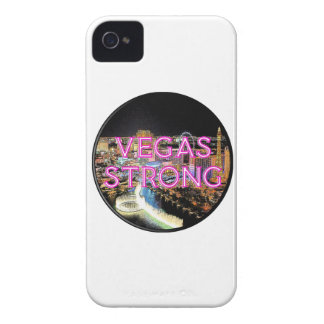 Starkes Rosa Vegas iPhone 4 Case-Mate Hülle