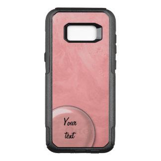 Starkes seifiges Rosa des Wasser-1256 OtterBox Commuter Samsung Galaxy S8+ Hülle